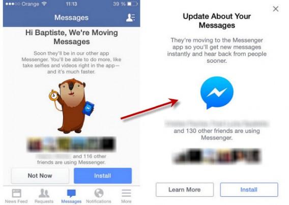 Facebook Messenger installation