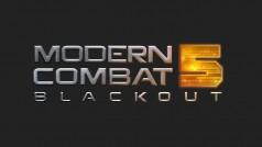 Modern Combat 5 disponible au téléchargement sur iPhone, Android et Windows Phone