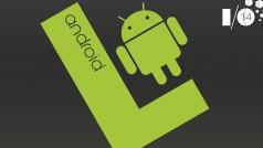 Android L pourrait débarquer le 1er novembre prochain