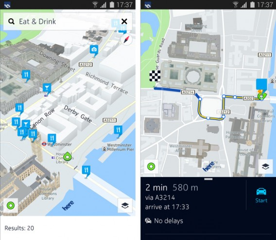 Nokia here maps 3