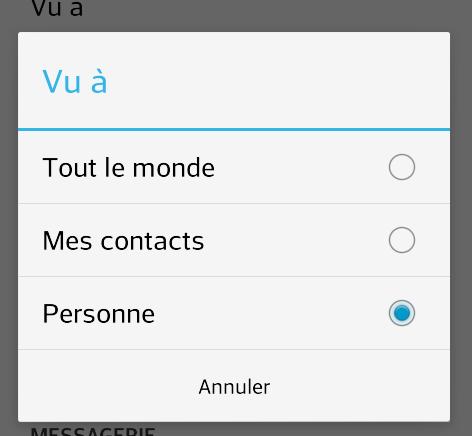 WhatsApp - personne