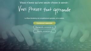 La plateforme d'apprentissage « Khan Academy » est désormais disponible en français !