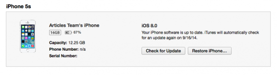 installer iOS 8