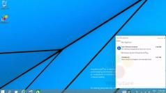 Fuite de Windows 9 : une vidéo montre le nouveau centre de notifications en action