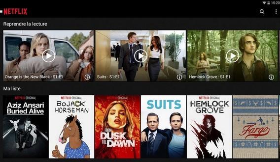 Netflix pour Android