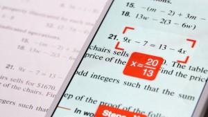 Nul en mathématiques ? PhotoMath est l'application qui résout les équations à votre place