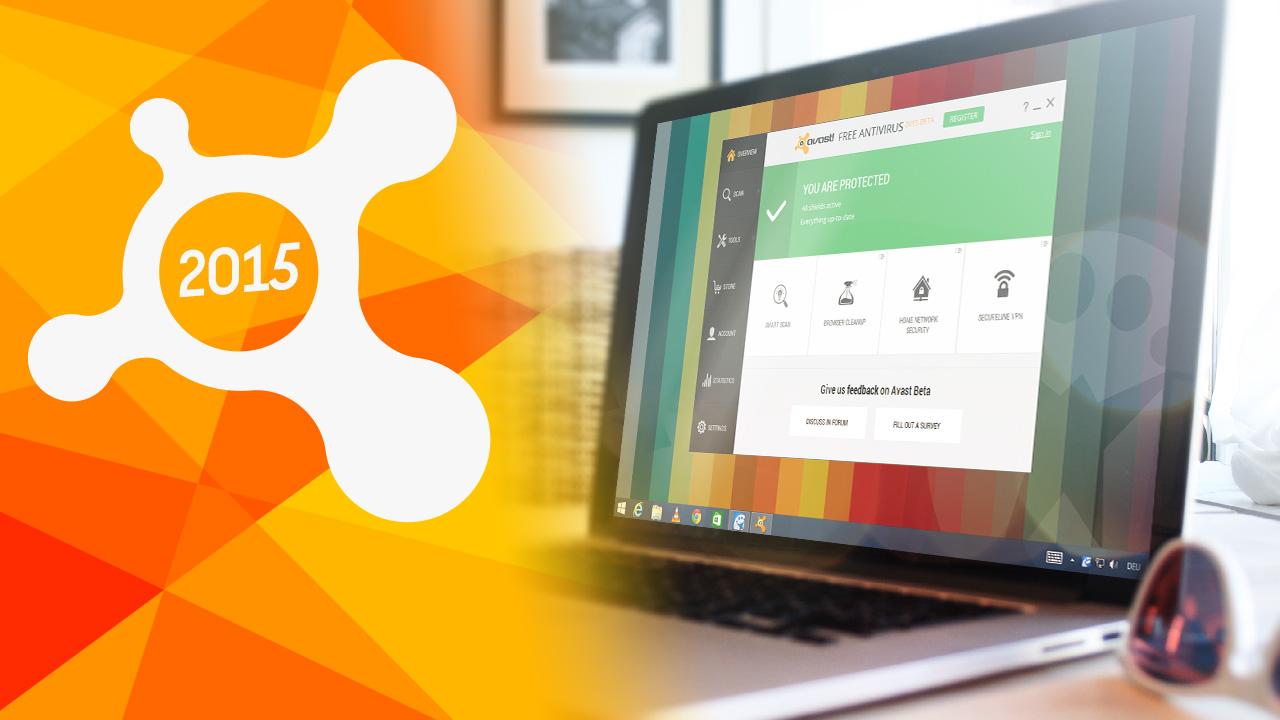 Avast 2015: le plus célèbre antivirus gratuit est disponible au téléchargement
