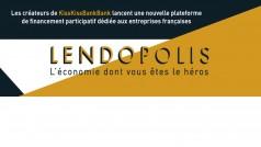 KissKissBankBank lance Lendopolis, une plateforme de crowdfunding pour PME et TPE