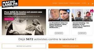 Dites STOP au sexisme et dénoncez les machos français sur Macholand.fr