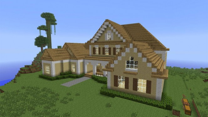 Guide minecraft pour les d butants comment construire sa premi re maison - Site de construction minecraft ...