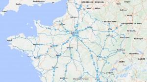 App du jour : géolocalisez les trains en temps réel grâce à SNCF Maps