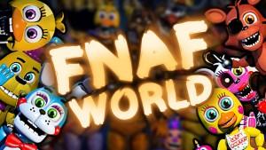FNaF World annonce sa date de sortie et le lancement d'une prochaine démo