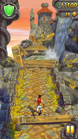 Temple RUn 2 na iOS