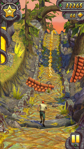 Temple Run 2 na iPad