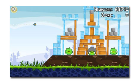Angry Birds na Windows Phone