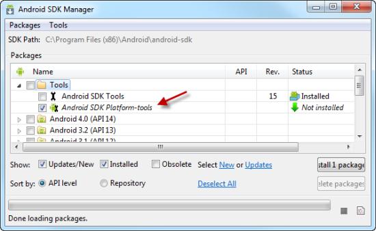 Android Platform Tools