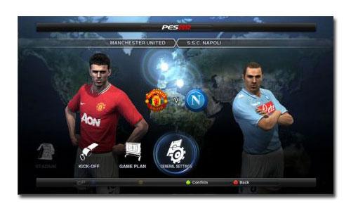 PES 2012 versus Fifa 12