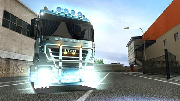 Euro Truck Simulator Iveco Stralis AS Cube II mod pobierz