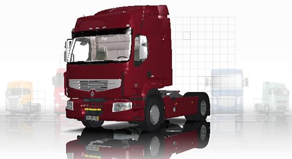 Euro Truck Simulator Renault Premium 450 DXI Euro 5 Mod pobierz