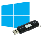Windows 8 logo pendrive usb