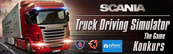 Konkurs Scania Truck Driving Simulator