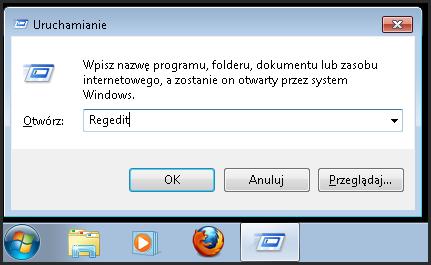 Edytor rejestru w Windows