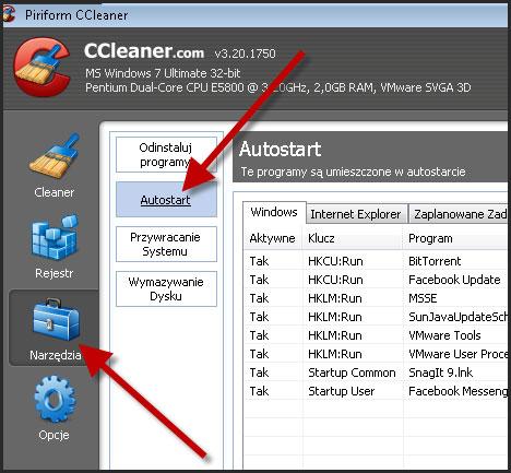 Jak przyspieszyć uruchamianie systemu Windows z CCleaner