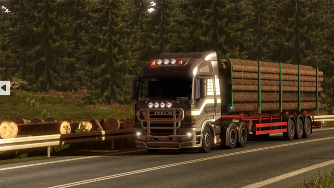 Wypróbuj mody do gry Euro Truck Simulator 2!