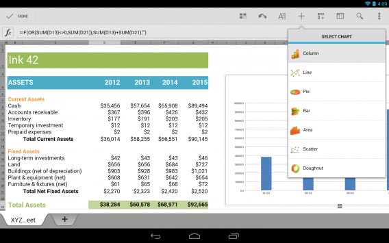 Quickoffice na Android