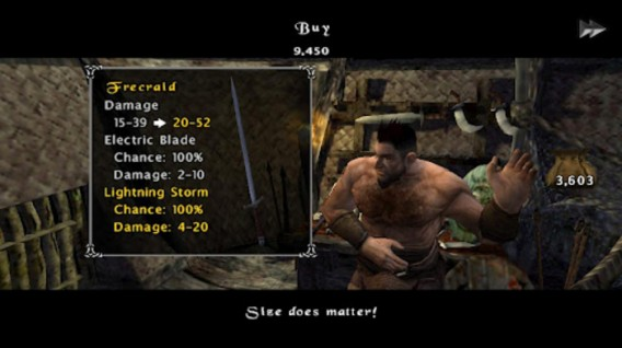 The Bard's Tale na Android