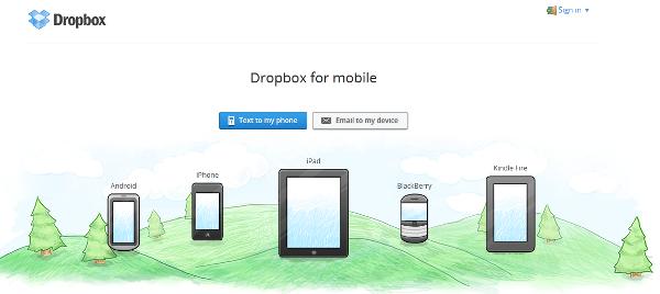 Dropbox dla Android