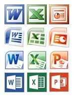Jak zmieniały się ikony Microsoft Office