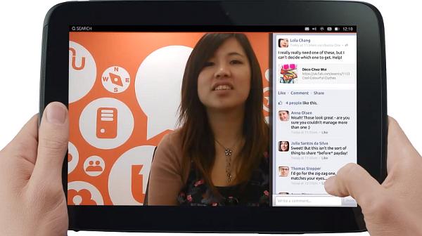 Ubuntu na tablet