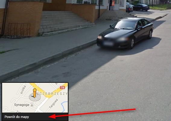 Google Street View Widok Z Ulicy