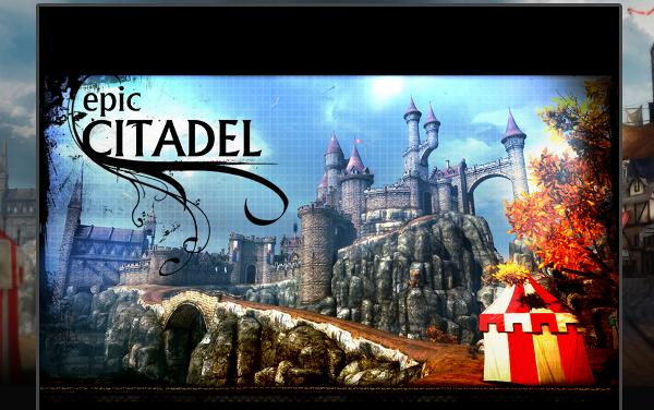 Epic Citadel na Firefox