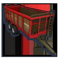 Rozrzutnik obornika N-270 Ursus w Farming Simulator
