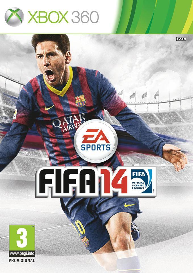 FIFA 14 - okładka gry