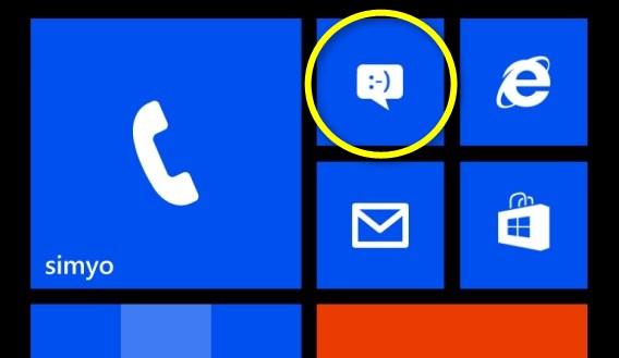 Jak wysłać sms w telefonie Windows Phone