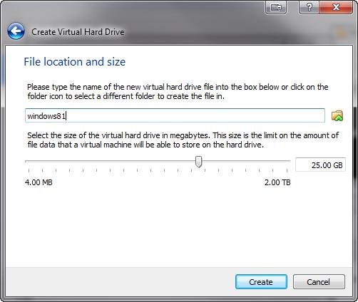 windows 8.1 instalacja w wirtualnej maszynie