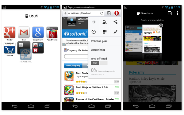 Opera na Android