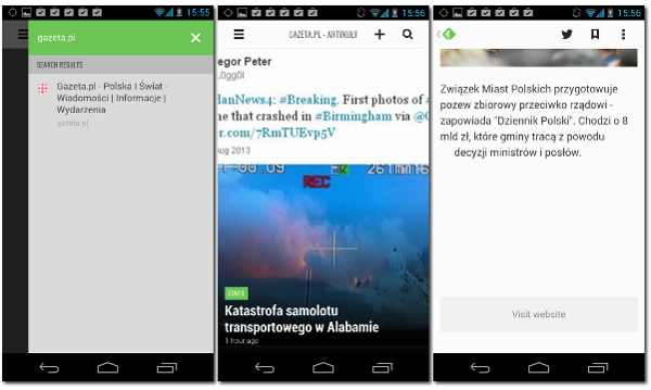Feedly na Android