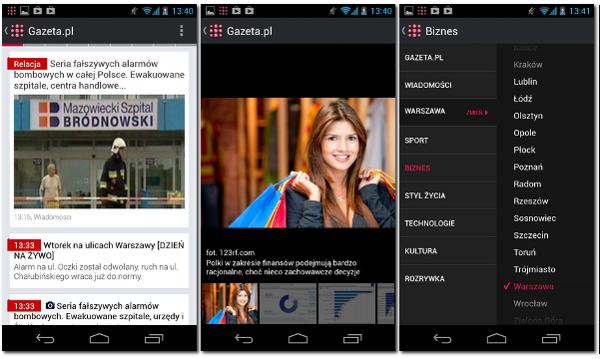 Gazeta.pl LIVE na Android