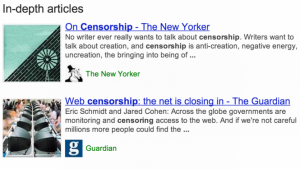 Google będzie promował interesujące artykuły w wynikach wysuzkiwania