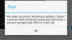 Błąd serwera RPC:S-5:AEC-0 w Google Play – jak to naprawić?