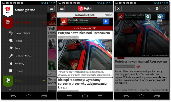 Info WP.PL na Android