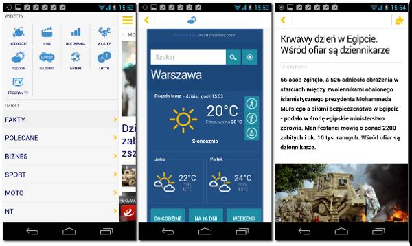 Interia Fakty na Android