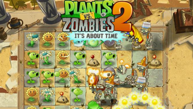 Pierwsze kroki w grze Plants vs Zombies 2