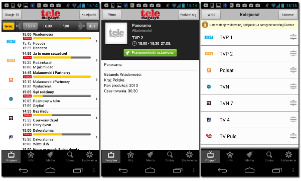 Program TV Telemagazyn na Android