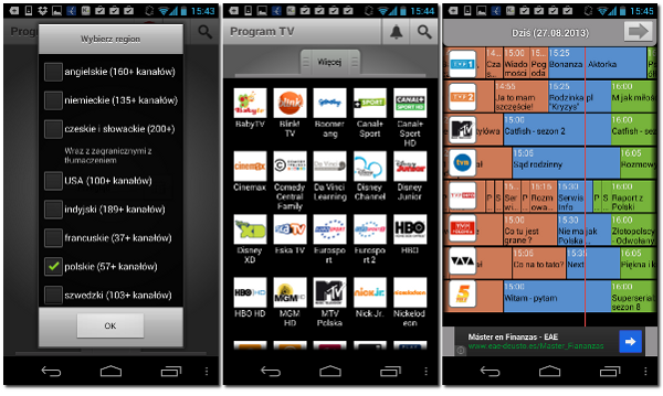 TV Guide TIVIKO na Android