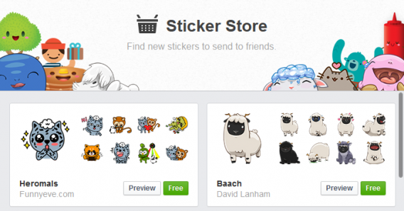 facebook comment stickers download
